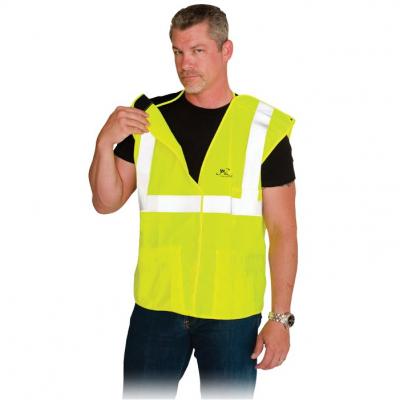 3 Pocket Solid Breakaway Vest