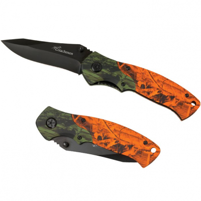 Blaze 2-Tone Camo Knife