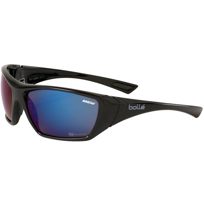 Bollé Hustler Blue Polarized Glasses