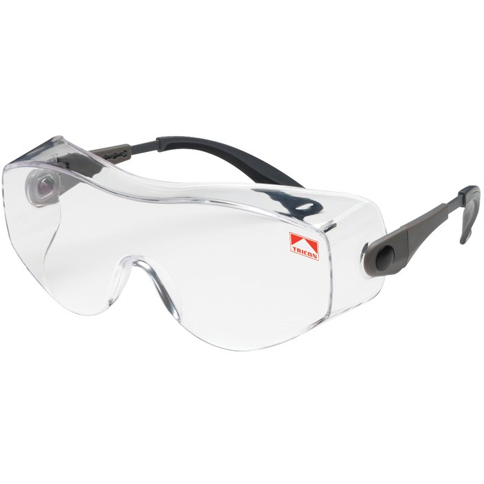 Bouton Oversite Clear Glasses