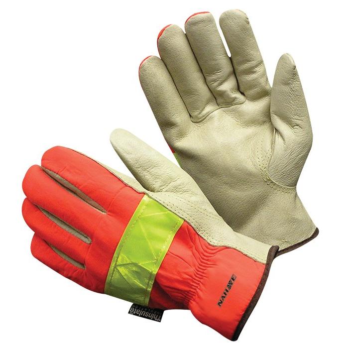 Insulated Top Grain Pigskin Glove