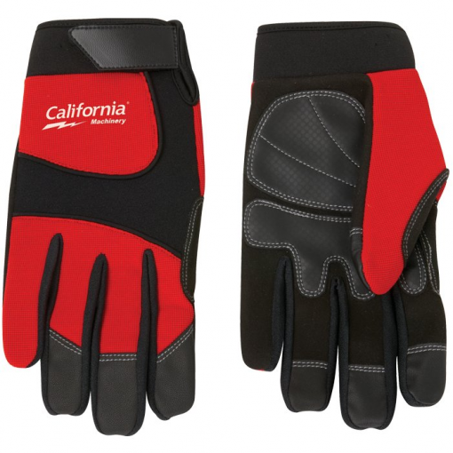 Synthetic Leather Palm Mechanic Style Glove
