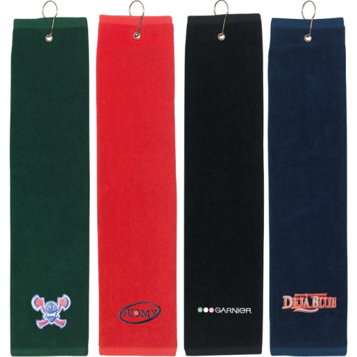 "Tri-Fold Golf Towel (16"" x 22"")"