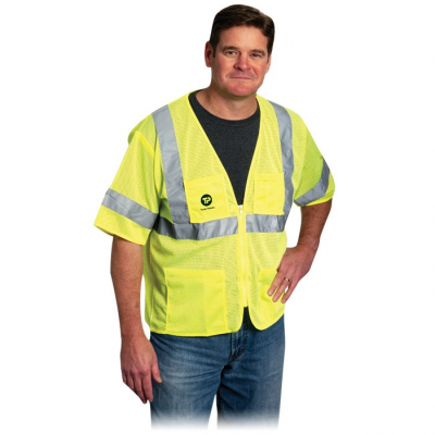 Value 4 Pocket Zipper Mesh Vest