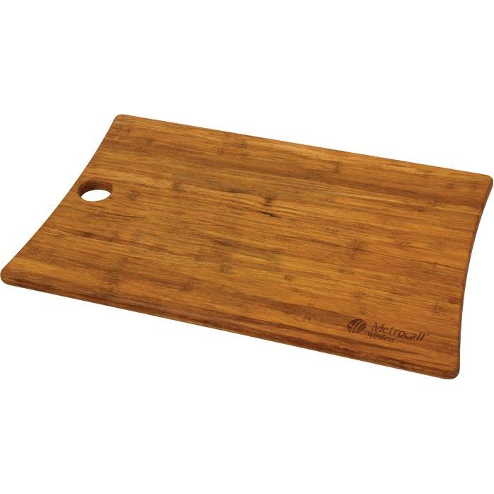 Woodland Bamboo Cutting Board (L)