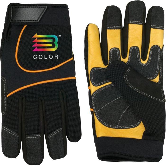 Cow Palm Mechanic Glove