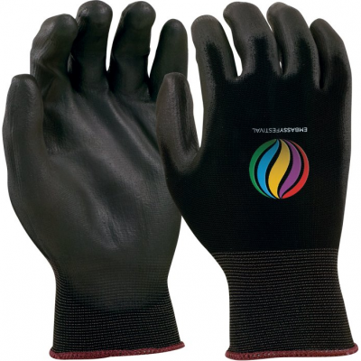 Seamless Knit Glove - Black