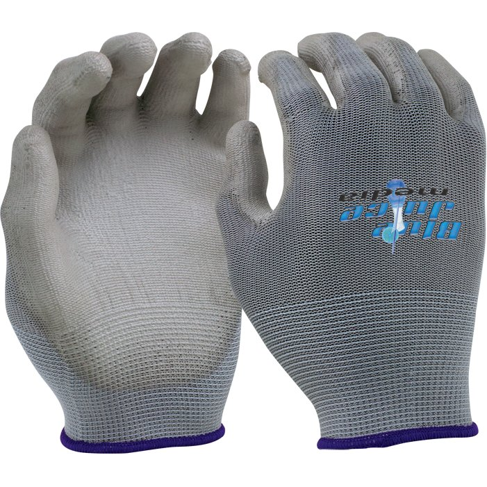 Seamless Knit Glove - Gray