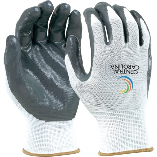 Seamless Knit Glove - White