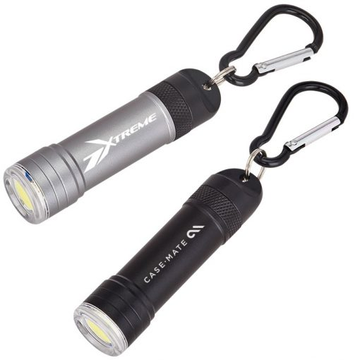 Magnetic Quick Release Flashlight with Carabiner