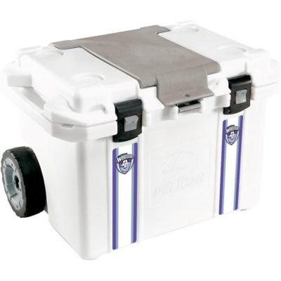 Pelican™ 55QT Cooler WHITE
