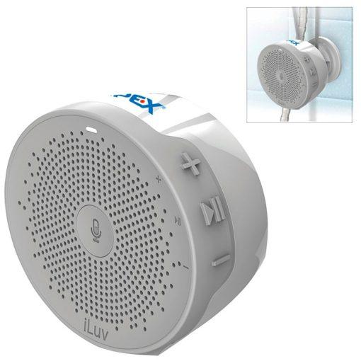iLuv® Alexa Enabled Shower Speaker