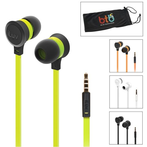 iLuv® Color Pop Tangle-Resistant Ear Buds