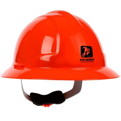 Hard Hat 4200 Full Brim Wheel Ratchet Hi-Vis