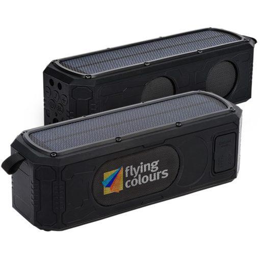 9W Solar Waterproof Bluetooth® Speaker / Power Bank
