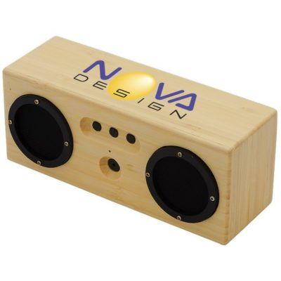 6W Silas Bamboo Bluetooth® Speaker