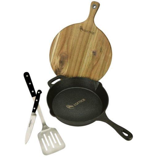 CraftKitchen™ Campside Skillet & Board Gift Set