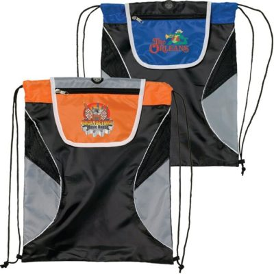 Fold Over Cinchpak Drawstring Bag