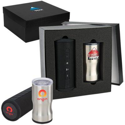 Poolside 3-in-1 Insulator & Speaker Gift Set