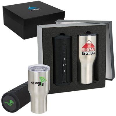 Poolside 30oz Tumbler & Speaker Gift Set