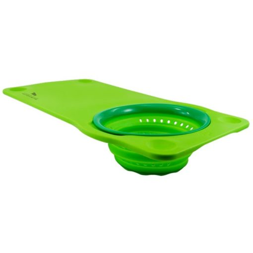 Squish® Over the Sink Cutting Board with Colander