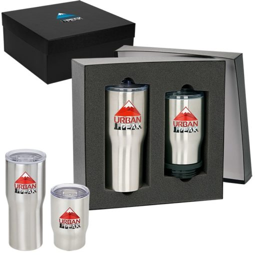 Urban Peak® Gift Set (20 oz / 3-in-1 Tumbler)