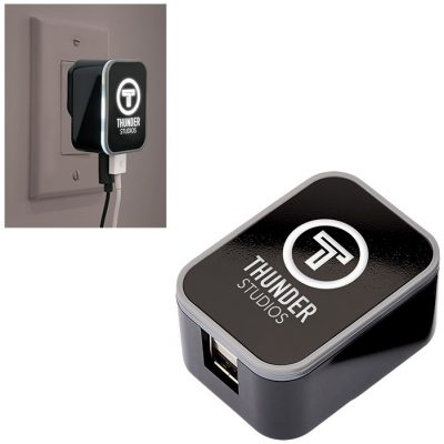 UL Listed Dual USB Glow AC Adapter