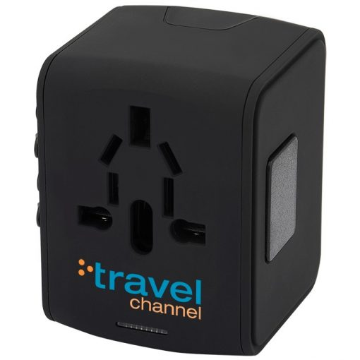 Universal Travel 4 USB Port Adapter