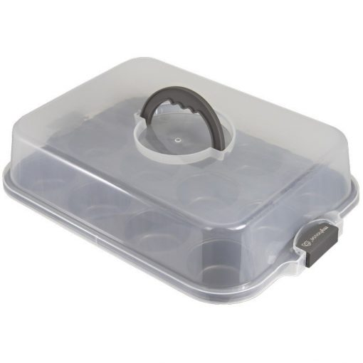 Prime Chef™ Simple Treats 12 Muffin Pan w/ Cover
