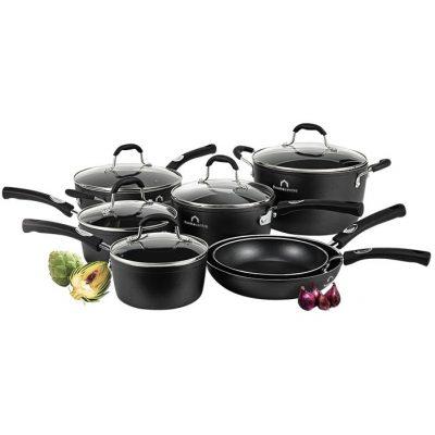 Studio Cuisine™ 12 Piece Aluminum Cookware Set