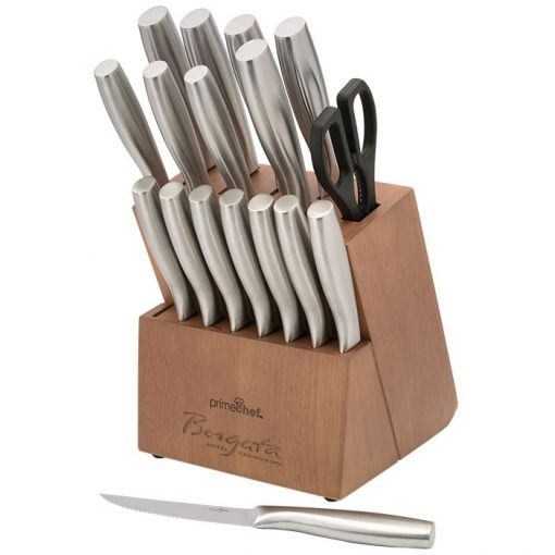 Prime Chef™ Stainless Steel 18 Piece Block Set