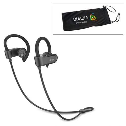 iLuv® Splash-Proof Bluetooth® Earbuds
