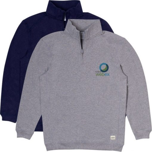 Recover® Recycled Unisex Quarter Zip