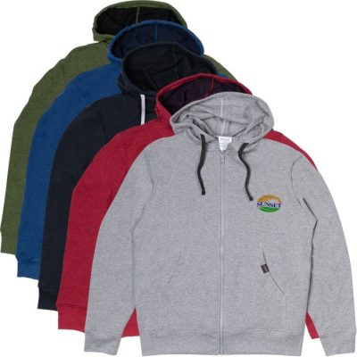 Recover® Recycled Unisex Zip Hoodie