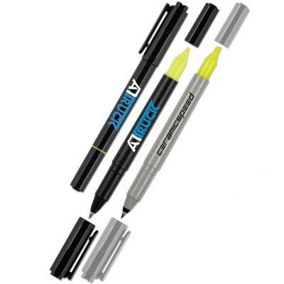 uni-ball Combi Highlighter Pen