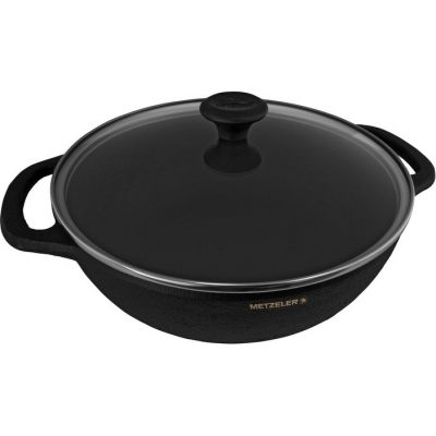 Old Mountain 3 Qt Braiser with Glass Lid