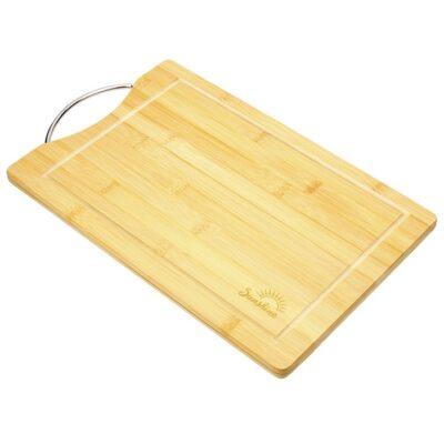 "Home Basics® Bamboo Board 10""x15"" w/ Handle"
