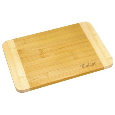 "Home Basics® Two Tone Bamboo Cutting Board 8""x12"""