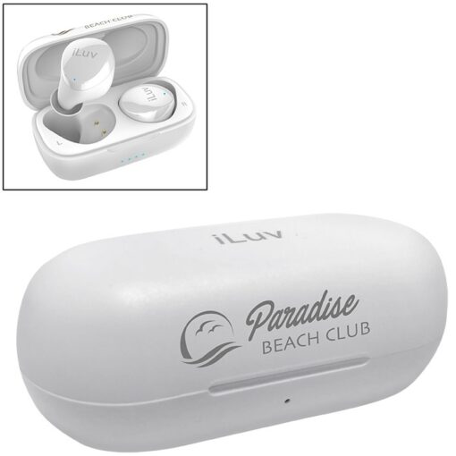 iLuv® Wireless Control Earbuds & Charger Case